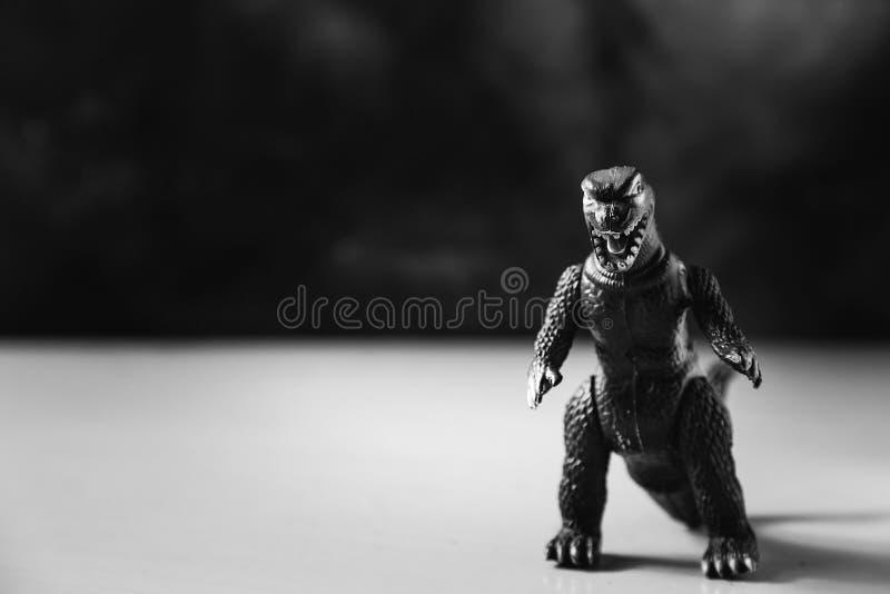 Игрушка динозавра стоковые фотографии rf