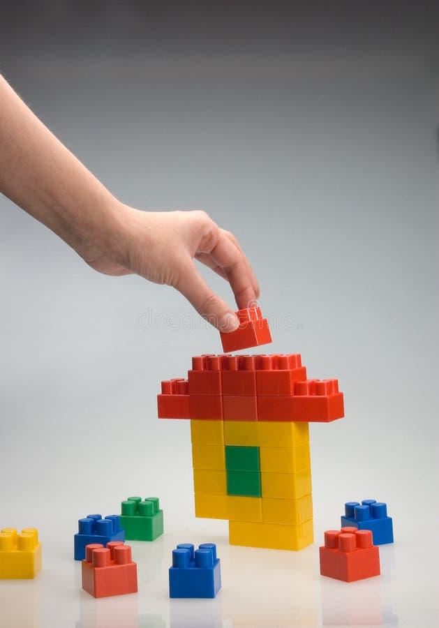 игрушка дома стоковая фотография