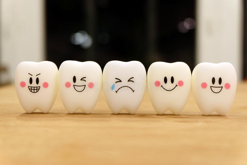 Игрушка зубов милая стоковое фото rf