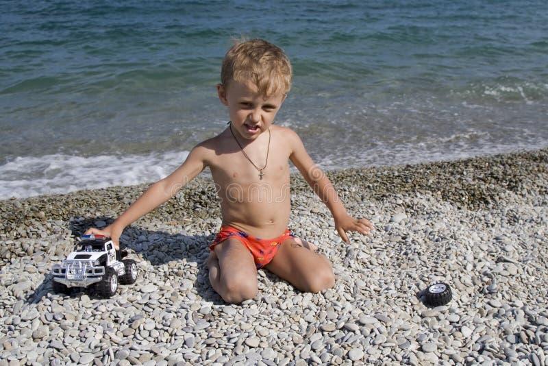игрушка игр автомобиля маленькая стоковое фото
