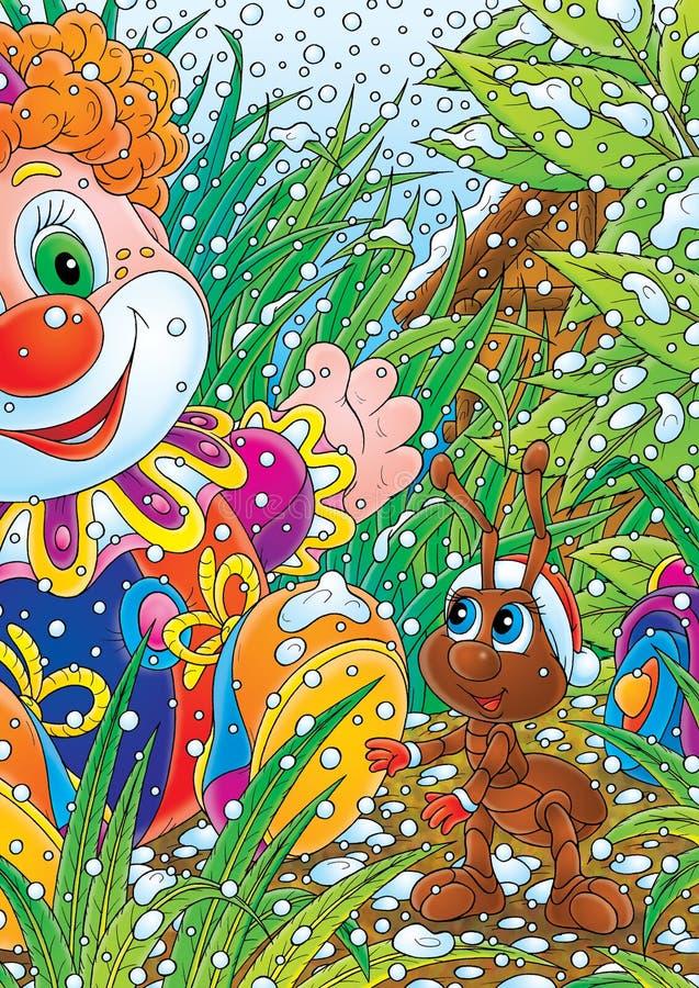 игрушка клоуна рождества муравея бесплатная иллюстрация