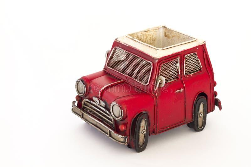 игрушка красного цвета автомобиля стоковая фотография