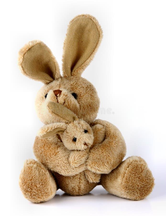 игрушка кролика зайчика привлекательная стоковая фотография rf