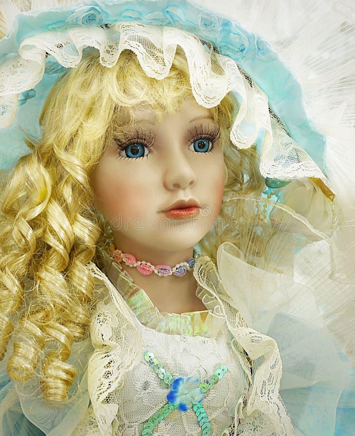Игрушка куклы портрета, крупный план стоковая фотография rf