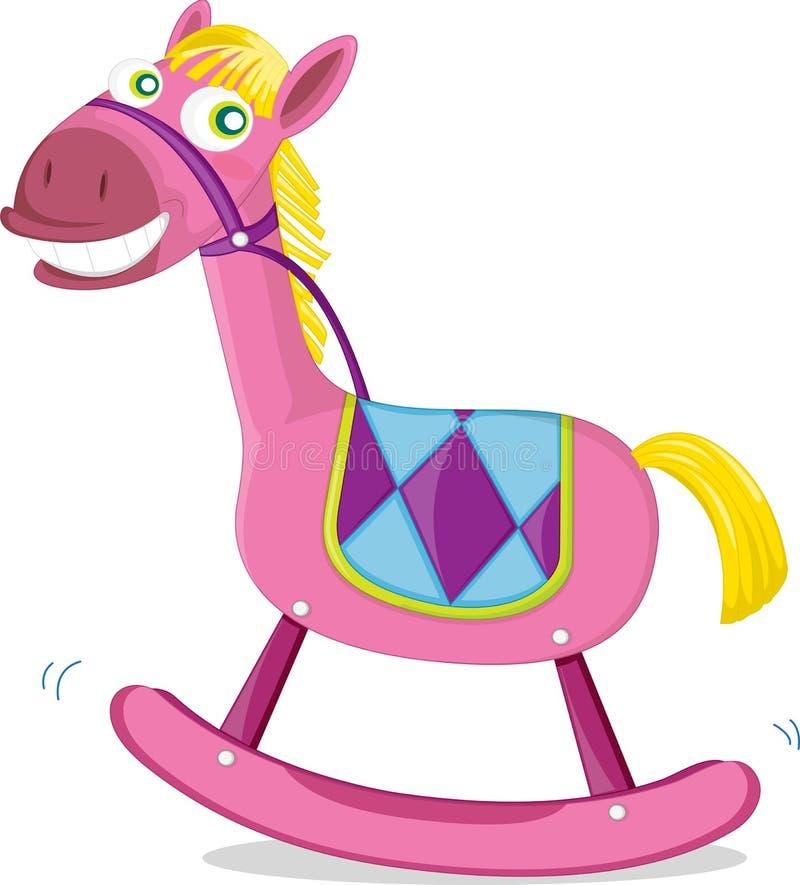 игрушка лошади иллюстрация штока