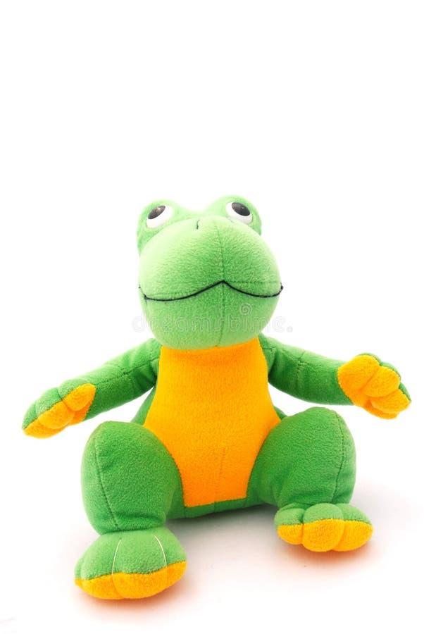 игрушка лягушки стоковое изображение rf