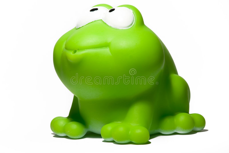 игрушка лягушки стоковое фото rf