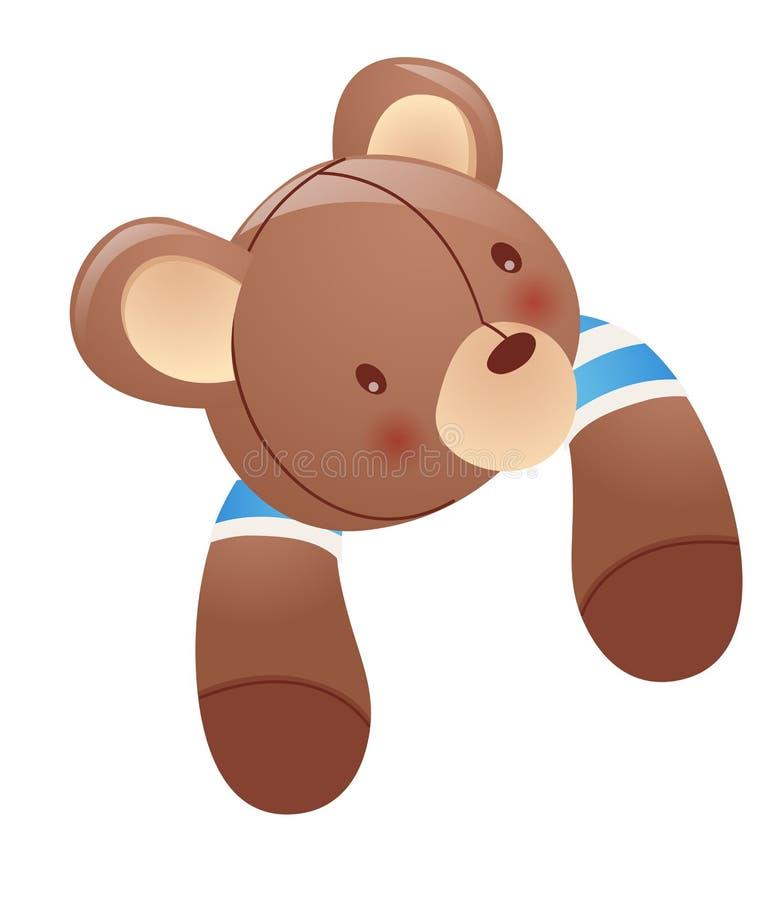 игрушка медведя иллюстрация штока