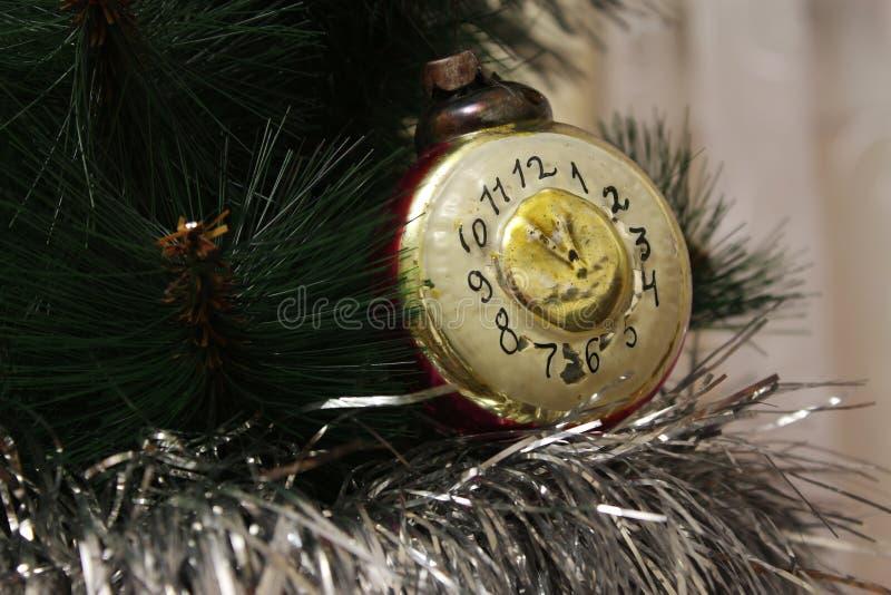 Игрушка на рождественской елке стоковое изображение
