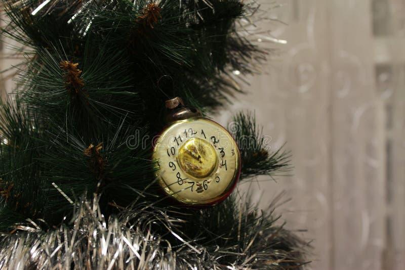 Игрушка на рождественской елке стоковое фото rf