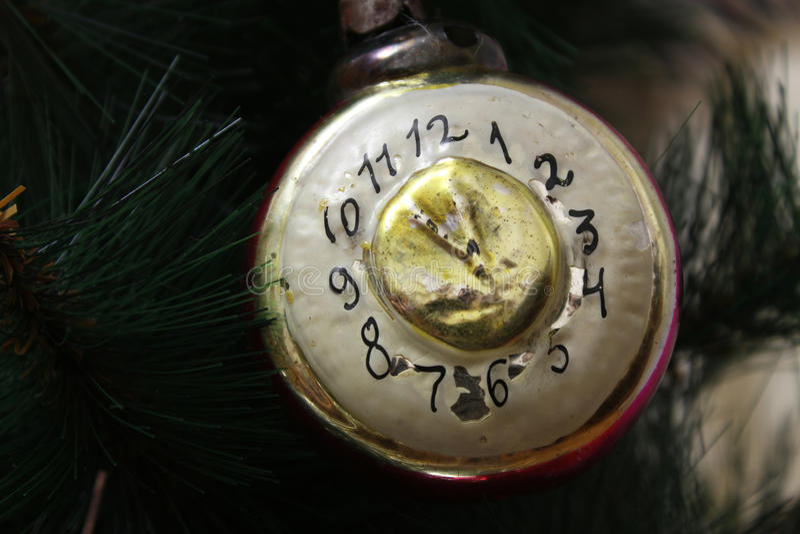 Игрушка на рождественской елке стоковые фотографии rf
