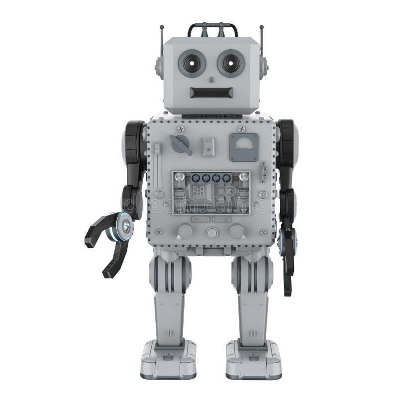 Игрушка олова робота иллюстрация штока