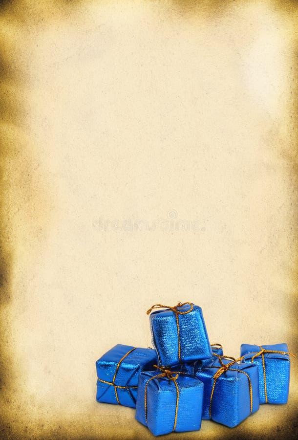 игрушка подарков ретро стоковые изображения rf