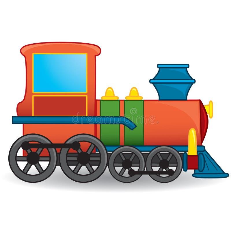 Игрушка поезда вектор иллюстрация вектора