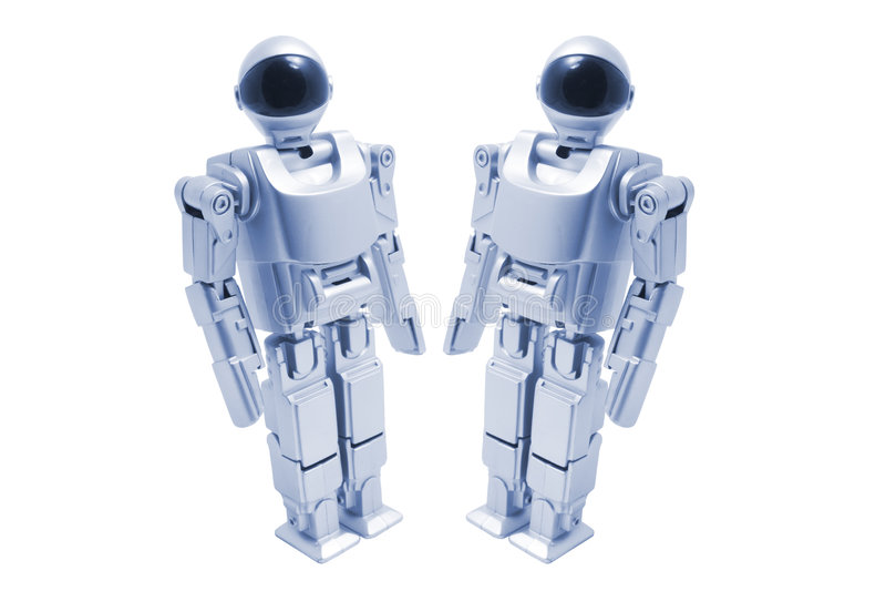 игрушка роботов стоковые фото