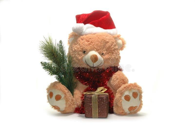 игрушка рождества медведя стоковое изображение rf
