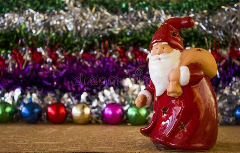 Игрушка Санта Клаус стоковые изображения rf