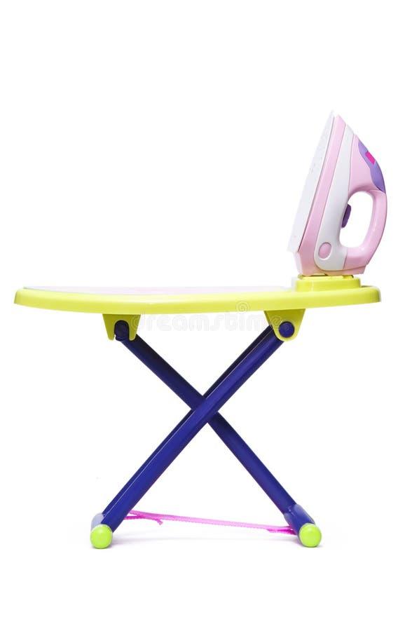 игрушка таблицы утюга стоковая фотография