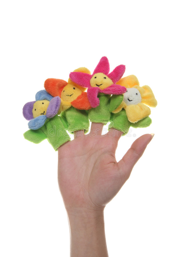 игрушка цветков стоковое изображение
