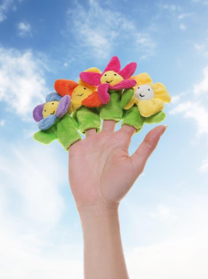 игрушка цветков стоковые фото