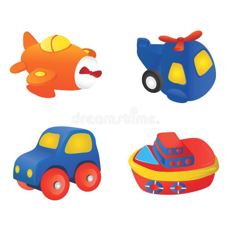 игрушка 2 иллюстраций иллюстрация вектора