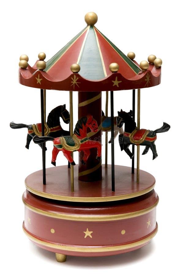 Download игрушка Carousel деревянная Стоковое Изображение - изображение насчитывающей игры, игрушка: 6863325