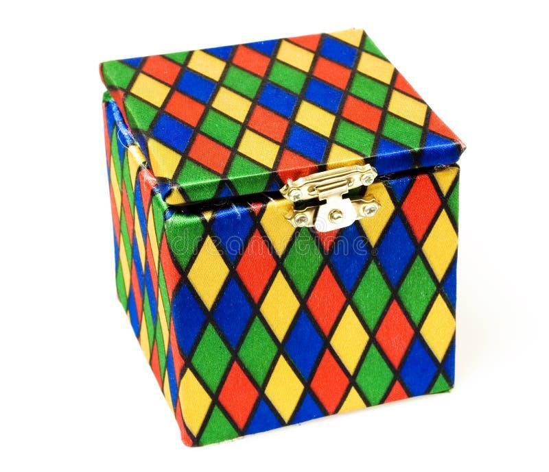игрушка jack коробки стоковая фотография