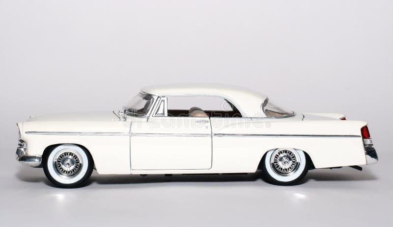 игрушка sideview маштаба металла chrysler автомобиля 1956 300b стоковые изображения
