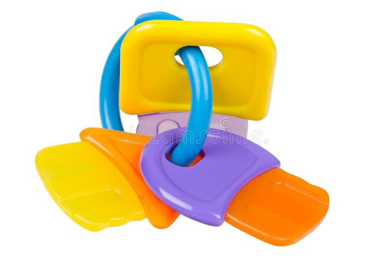 игрушка teething младенца стоковая фотография rf