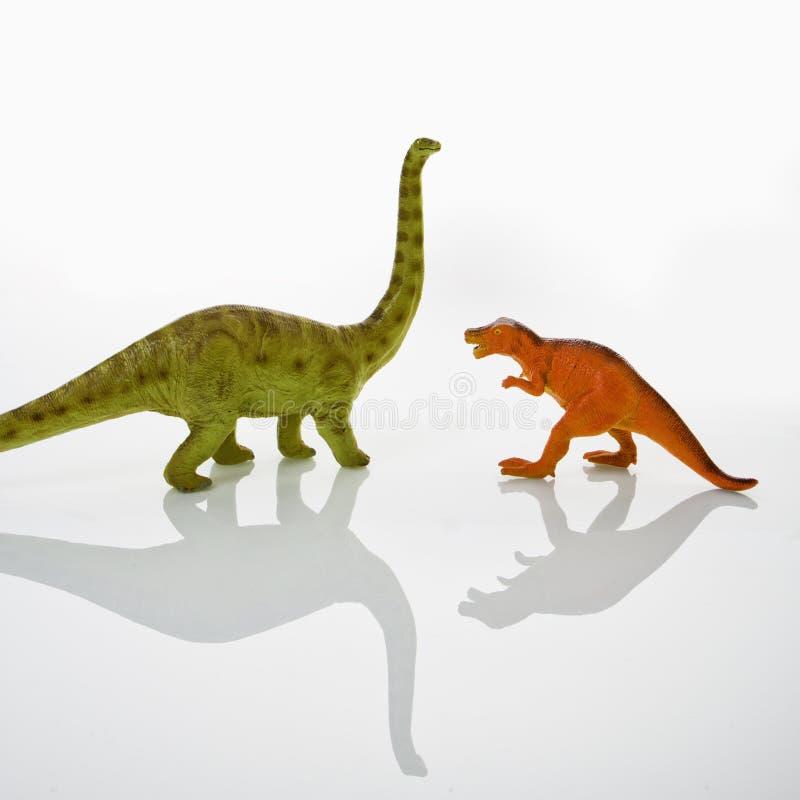игрушки динозавра стоковое изображение