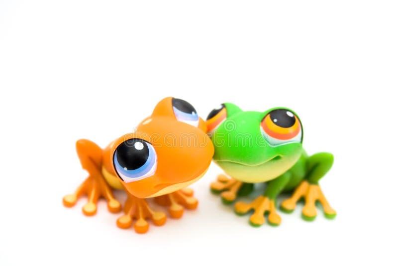 игрушки лягушки стоковое изображение rf