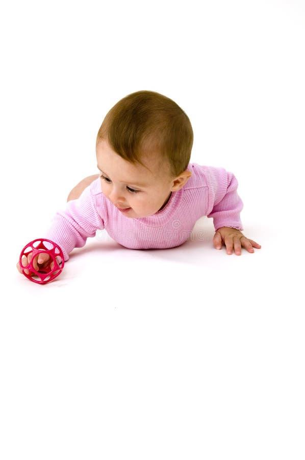 игрушки младенца милые играя стоковые фотографии rf