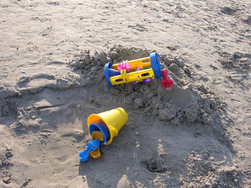 игрушки пляжа стоковое изображение