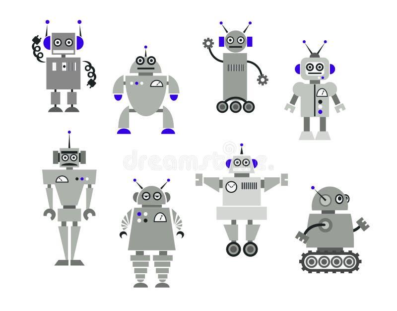 Игрушки робота бесплатная иллюстрация