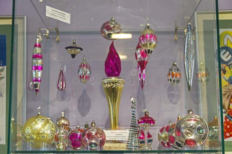Игрушки рождества в форме факела стоковые изображения