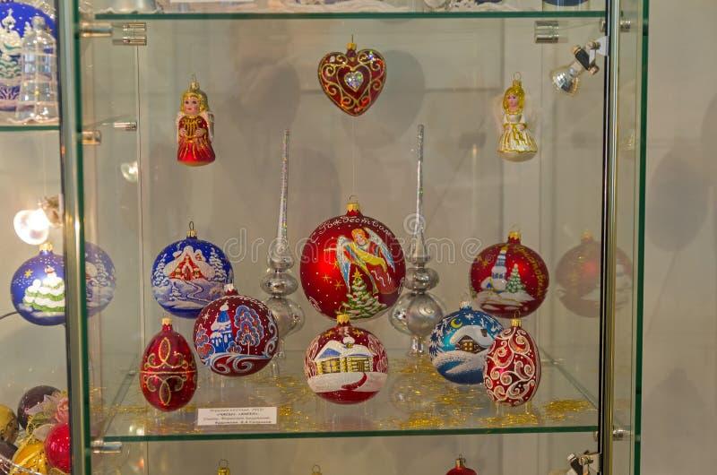 Игрушки рождества на религиозной теме стоковые изображения rf