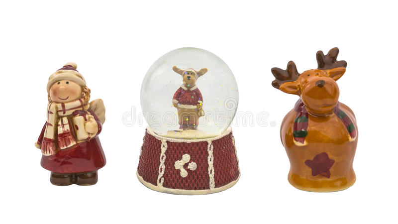 Игрушки рождества стоковая фотография rf