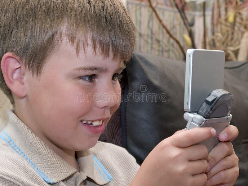 игры мальчика Стоковые Фото