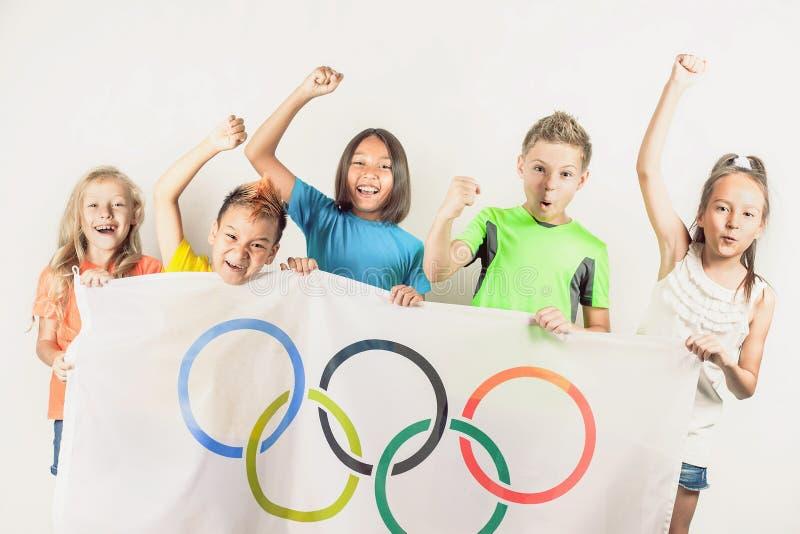 игры олимпийские Рио-де-Жанейро Бразилия 2016 стоковое изображение