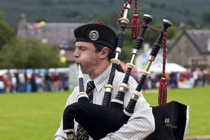 Игры Шотландия гористой местности стоковые фотографии rf