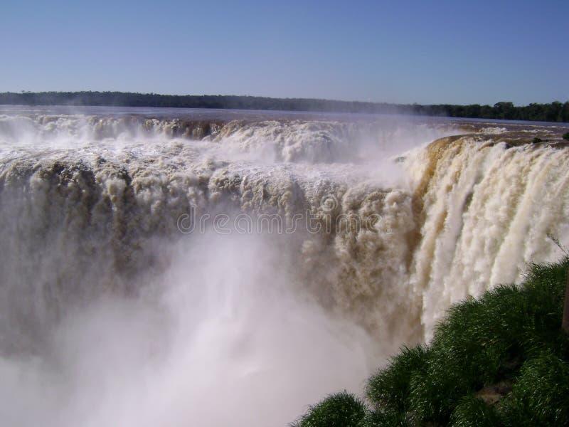 Игуазу Фаллс - Аргентина стоковое изображение