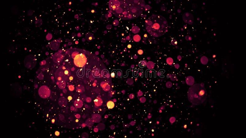 Идеальные верхние слои bokeh на рождестве предпосылки веселом и С Новым Годом! стоковая фотография rf