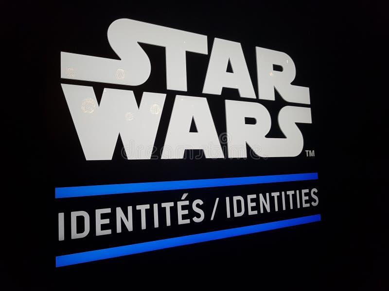 Идентичности Звездных войн стоковое изображение