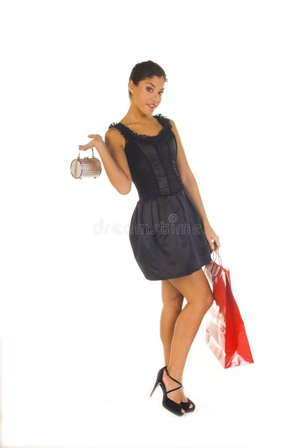 идет готовая покупка к стоковое фото