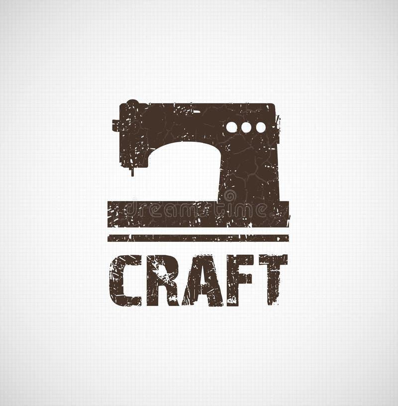 Идея дела логотипа ремесла иллюстрация вектора