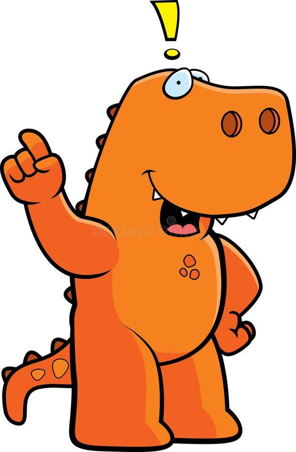 идея динозавра иллюстрация штока