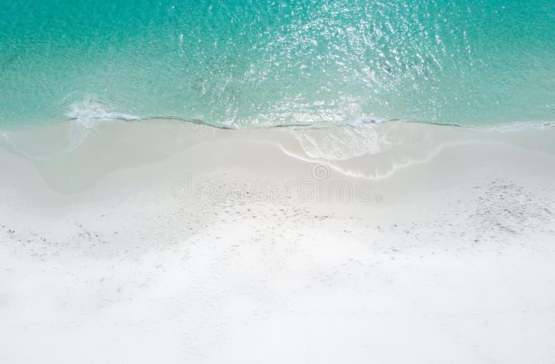 Идилличная вода на пляже Австралии Hyams стоковые фотографии rf