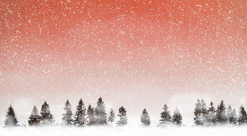 идти снег стоковое изображение
