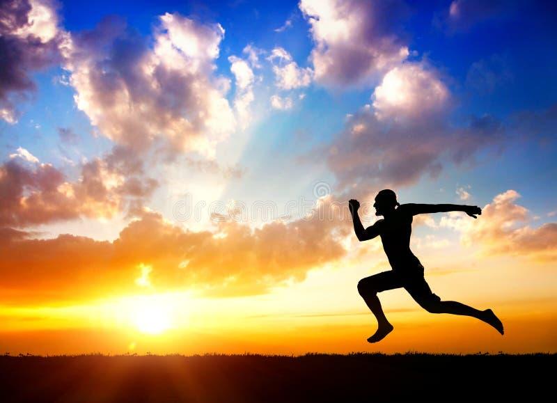 Download Идущий человек стоковое фото. изображение насчитывающей утро - 25823820
