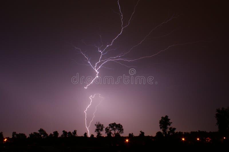 идя молния 6 09 10 вверх стоковые изображения rf